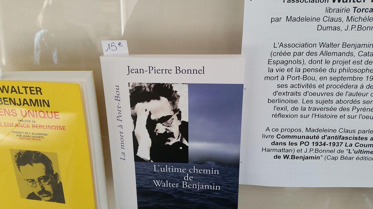 Expo PASSAGES au BOULOU (Pays catalan) - Pilar PARCERISAS (Port-Bou) - Vitrine (livre d'Hélène Peytavi) à la médiathèque du Boulou - Soirée O'Brian à Collioure - Hélène PEYTAVI