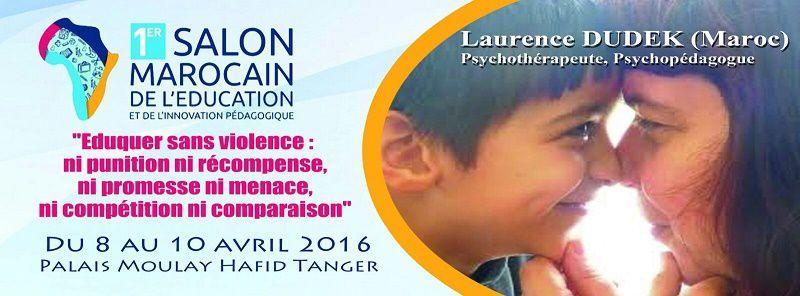 Laurence Dudek psychothérapeute sera présente au salon de l'éducation !