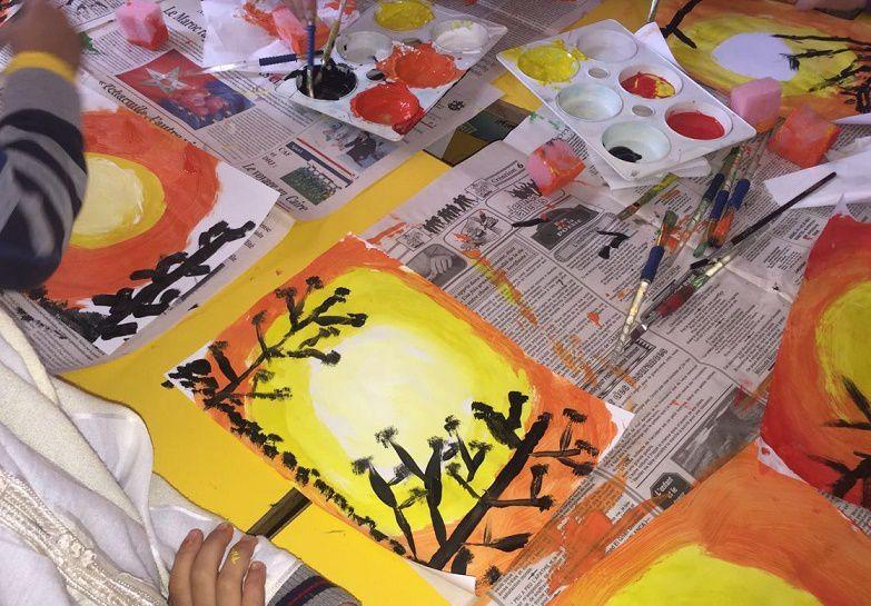 Arts visuels en classe de CP - التربية التشكيلية للقسم الأول ابتدائي