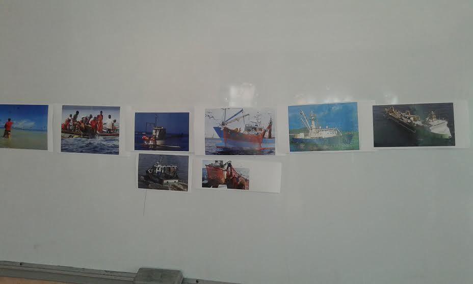 Projet pêche en 4ème année