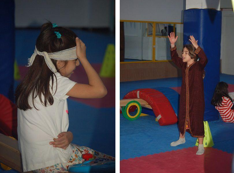 .مسرحية الأفعال تحمد الله، مع تلاميذ الثالث ابتدائي