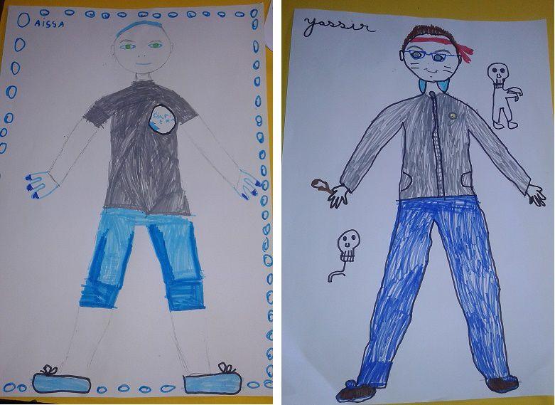 Issa et Yasser en 2ème année
