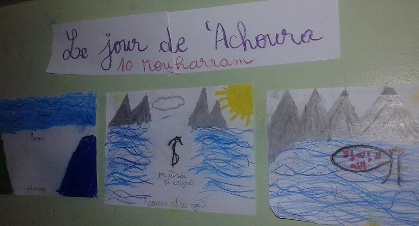 Voici une représentation imagée de cette journée, faite par nos élèves de 5ème année.