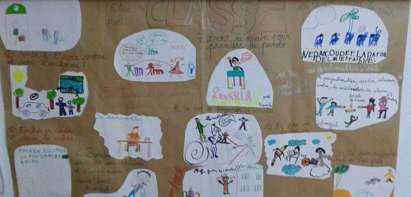 Les règlements de classe faits par les enfants !