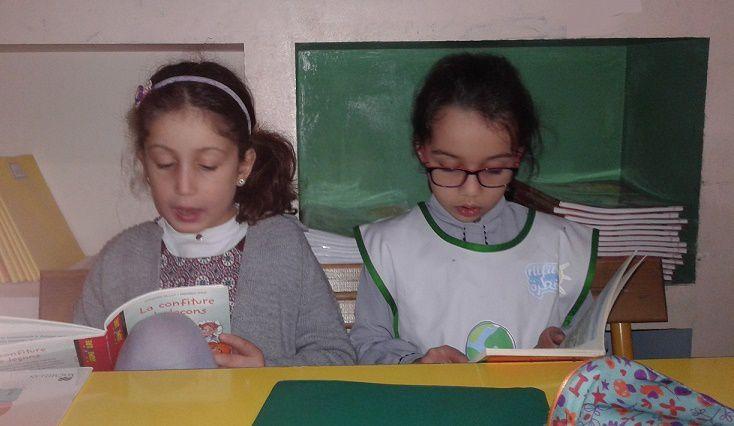 Instantanés en classe de CE1-B