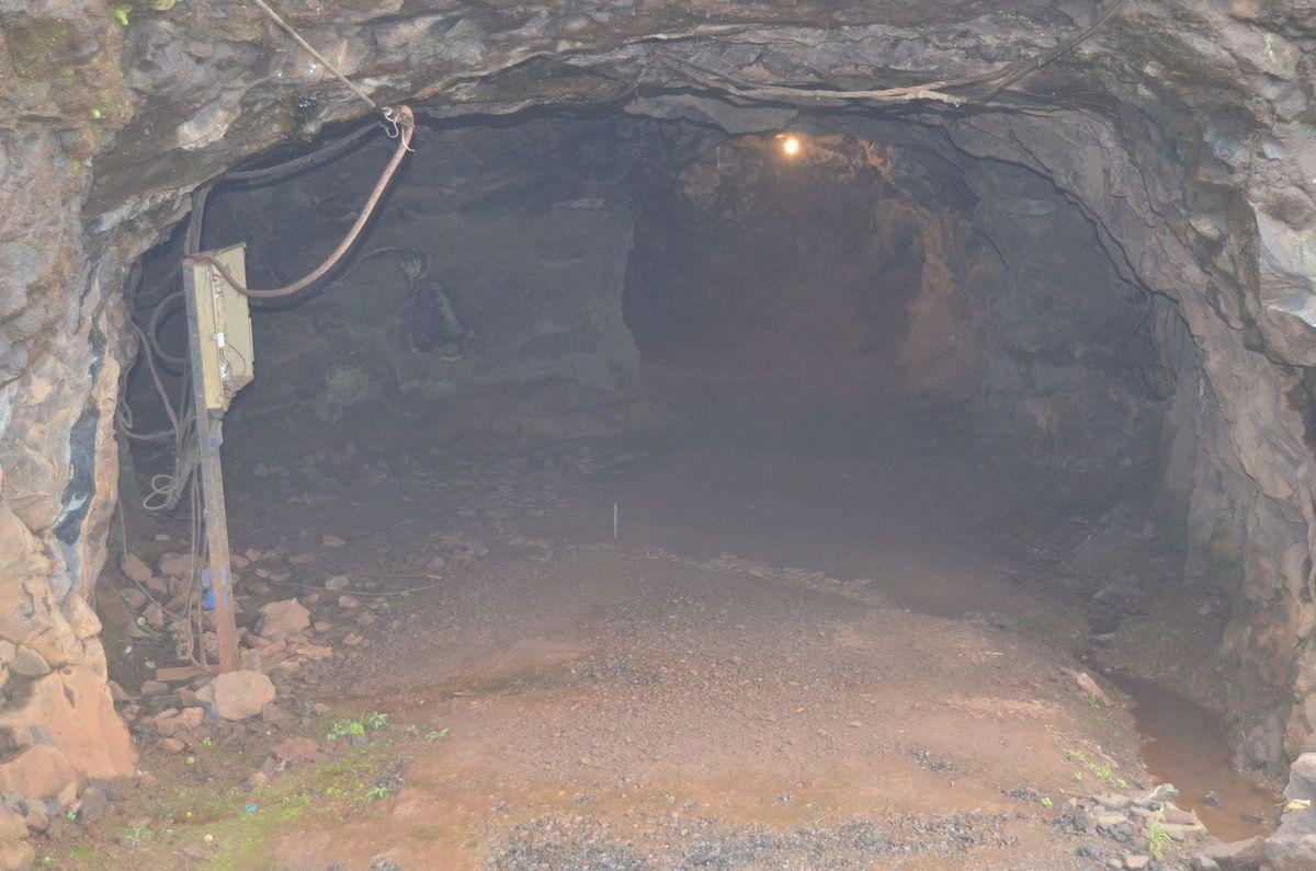 La mine en exploitation