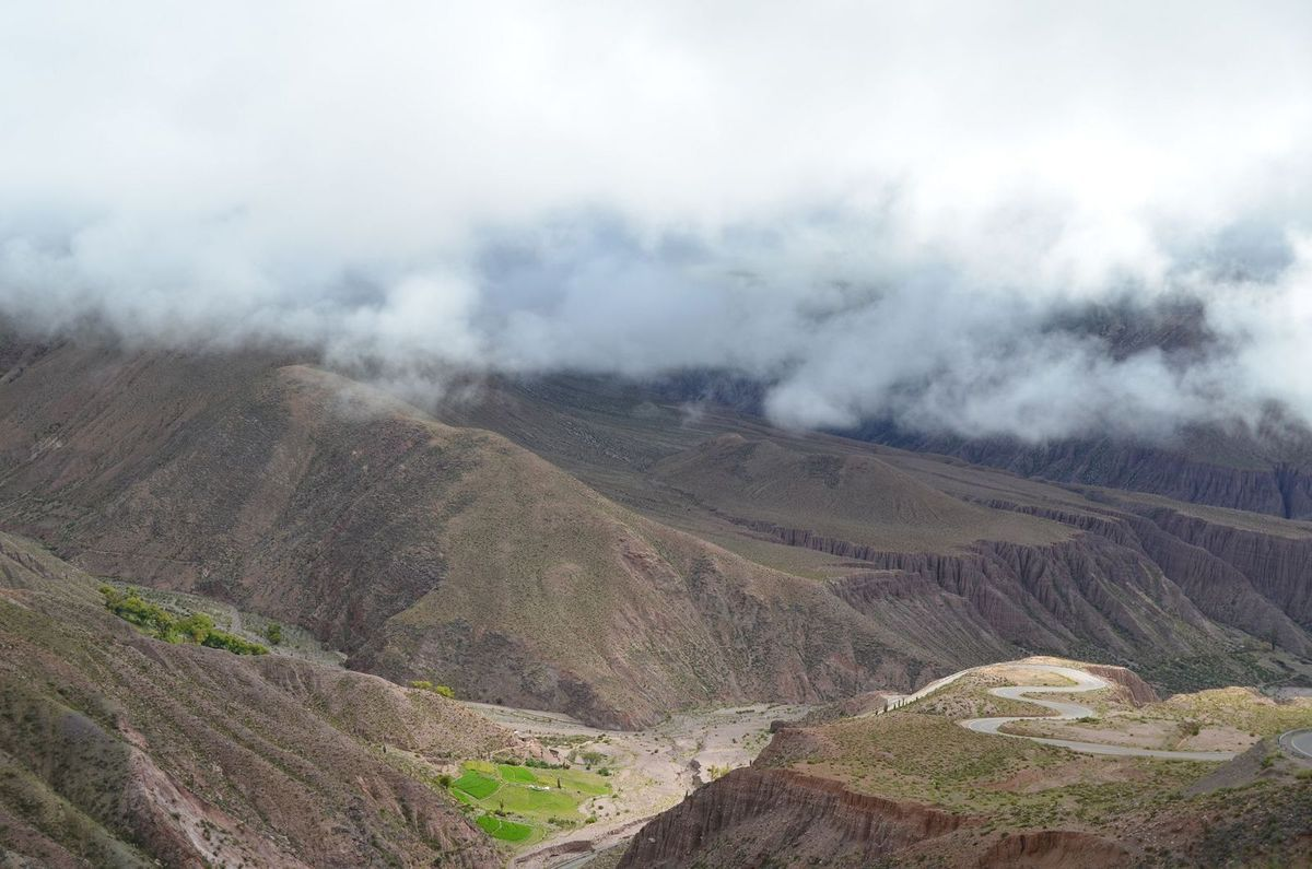 25/02/15 : de la Quebrada de las Conchas au Paso de Jama