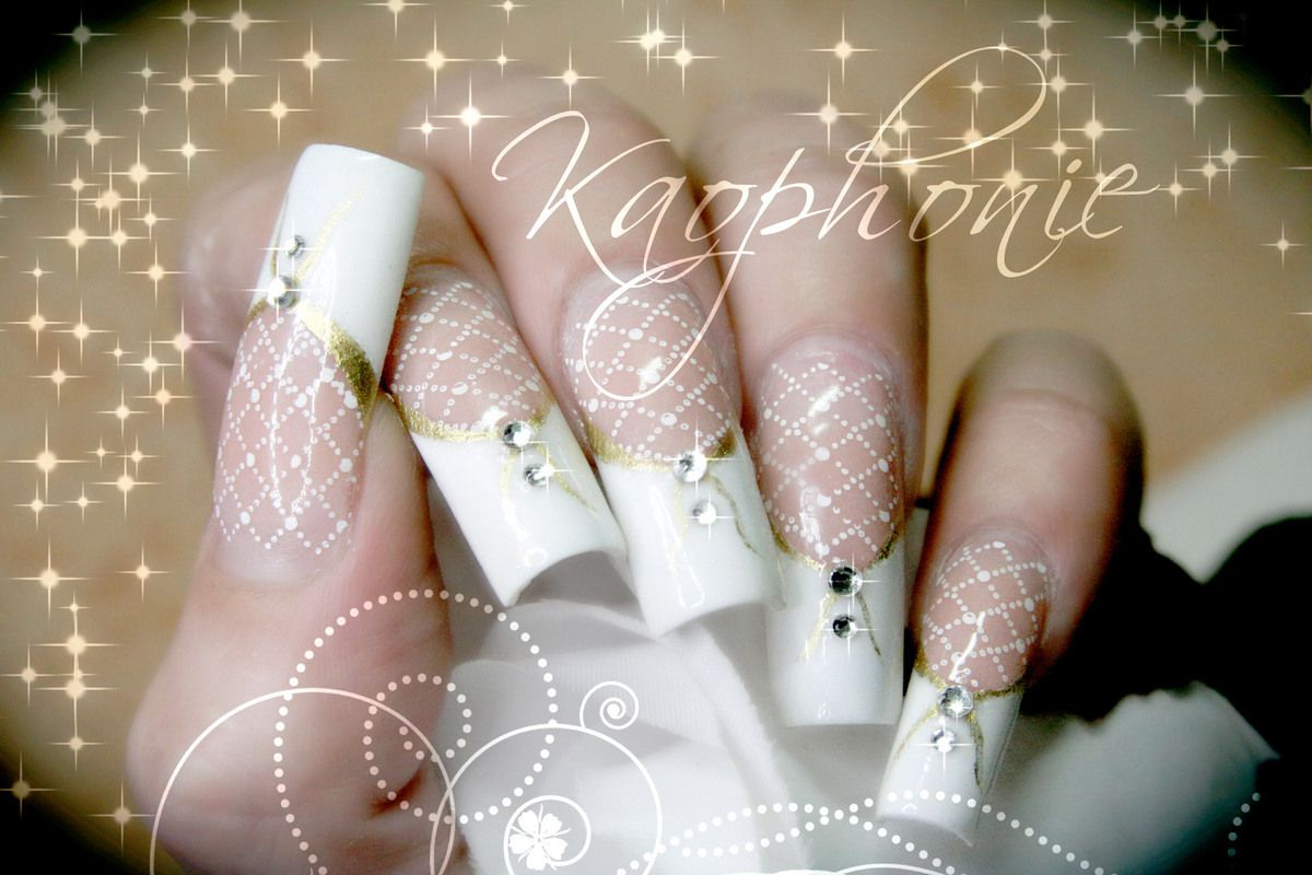 Mariage for Comdecoration pour ongles naturel