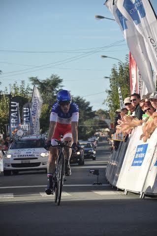 Sylvain Chavanel vainqueur de la course elite