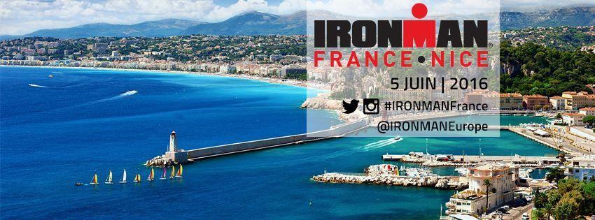 4 JEGOU SPORT au départ de l'Ironman de Nice