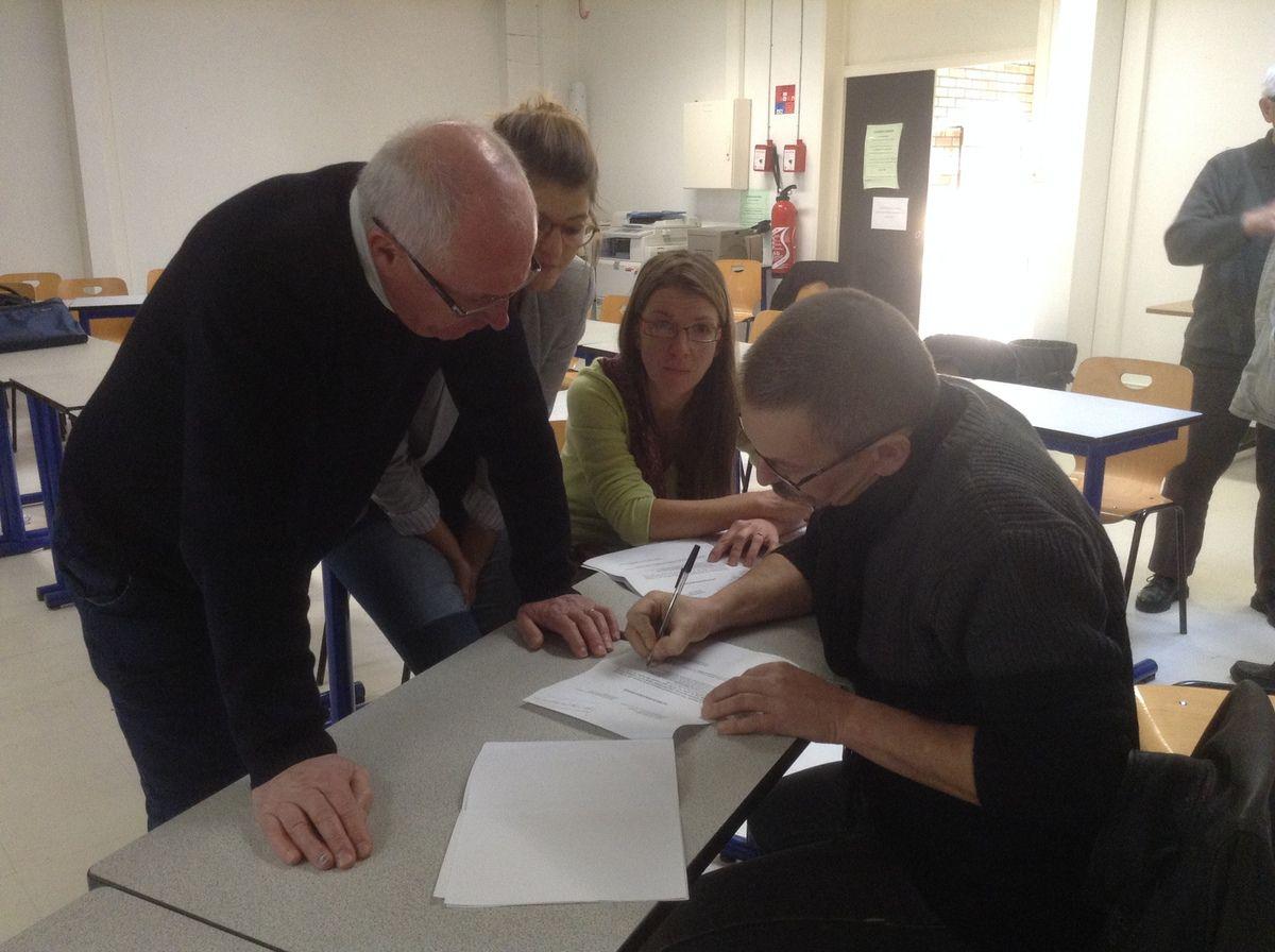 AG APINORD Dunkerque du samedi 29 novembre 2014 - Membres du Bureau Apinord
