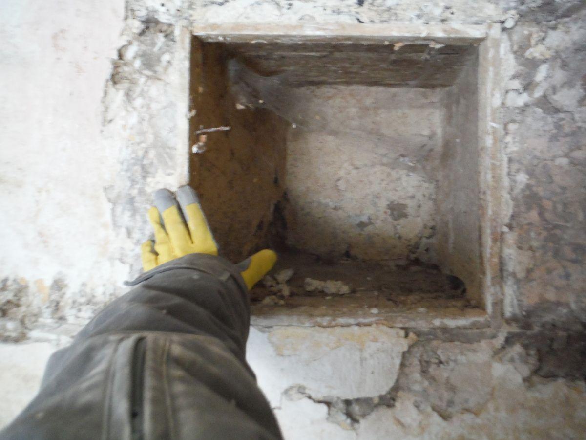 Piquetage des murs!