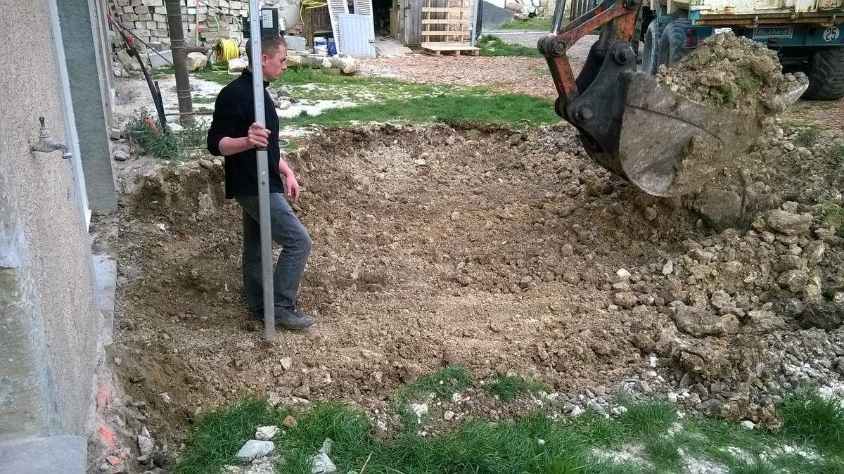 travaux de terrassement!!