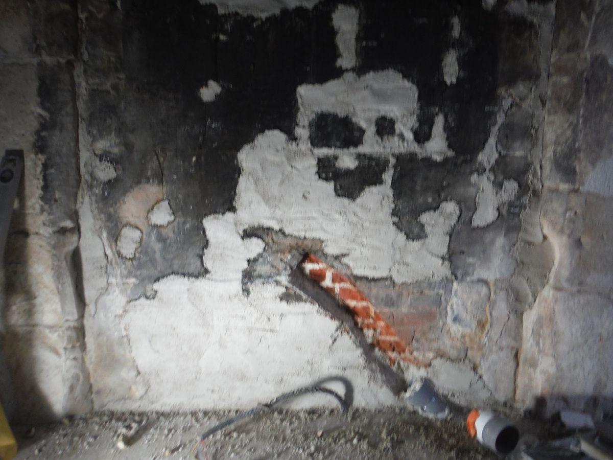 On s'occupe de la cheminée!