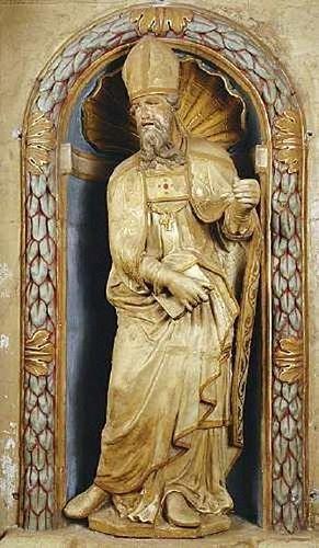 Saint Julien, en l'église de Degré (Sarthe)