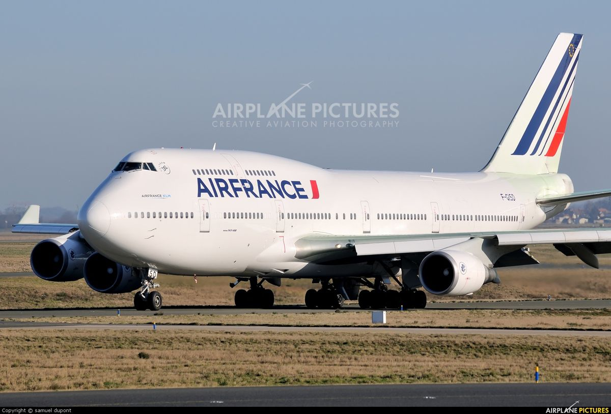 Air france un second vol d 39 hommage au 747 le petit for Interieur 747 air france