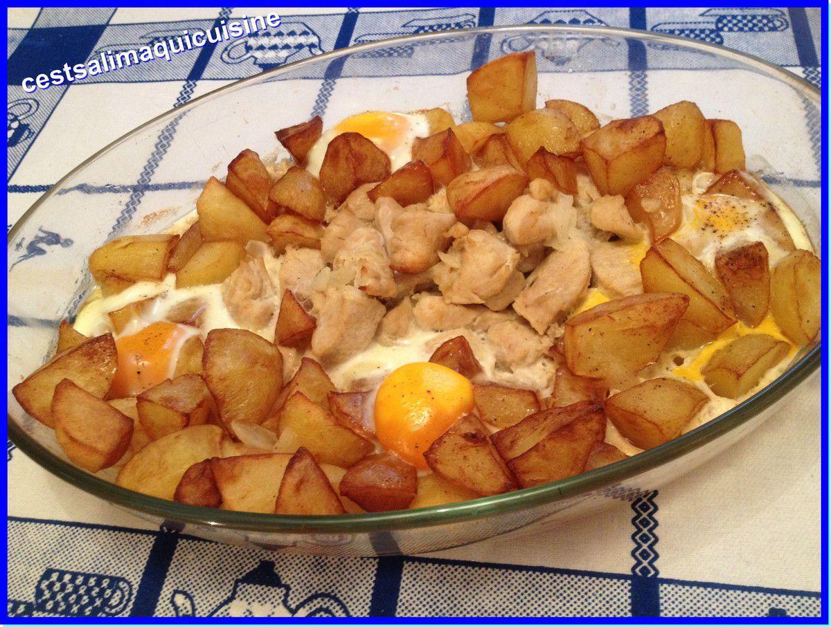 Kebab algérien au poulet