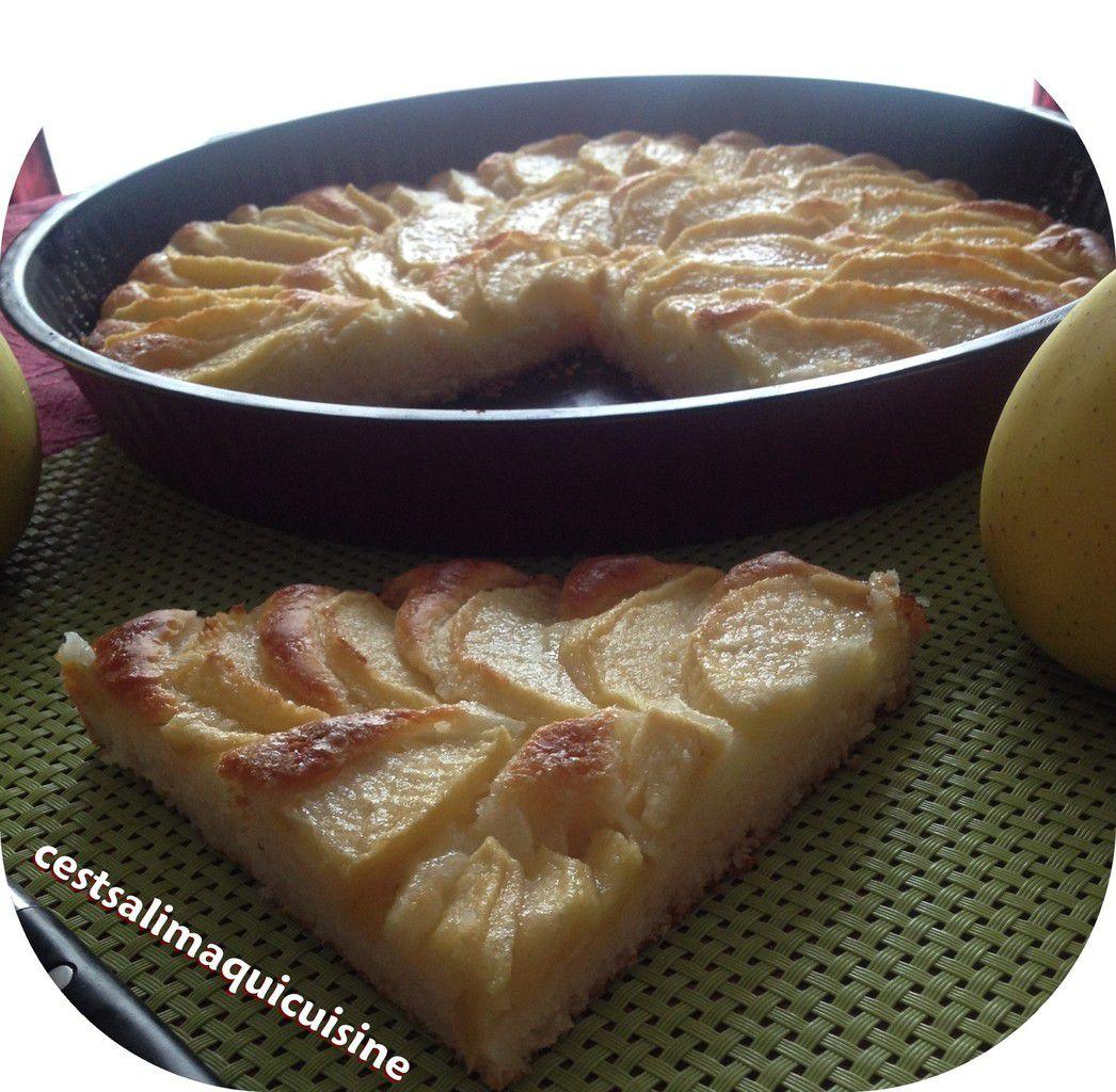 Tarte aux pommes sans oeufs