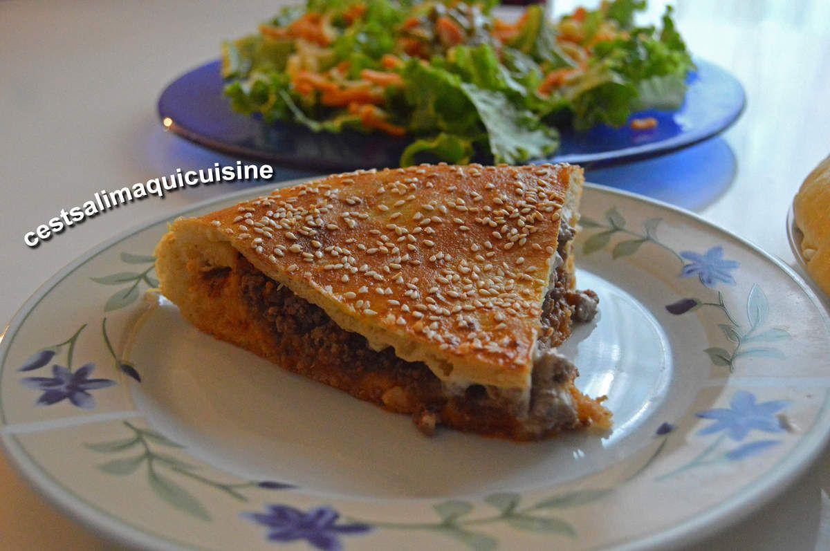 Tourte-burger