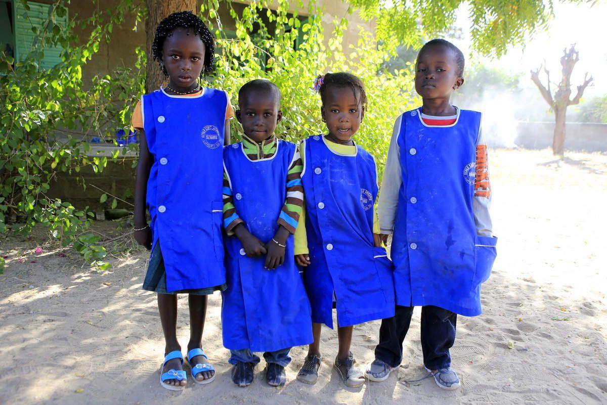 4 élèves en parrainage collectif