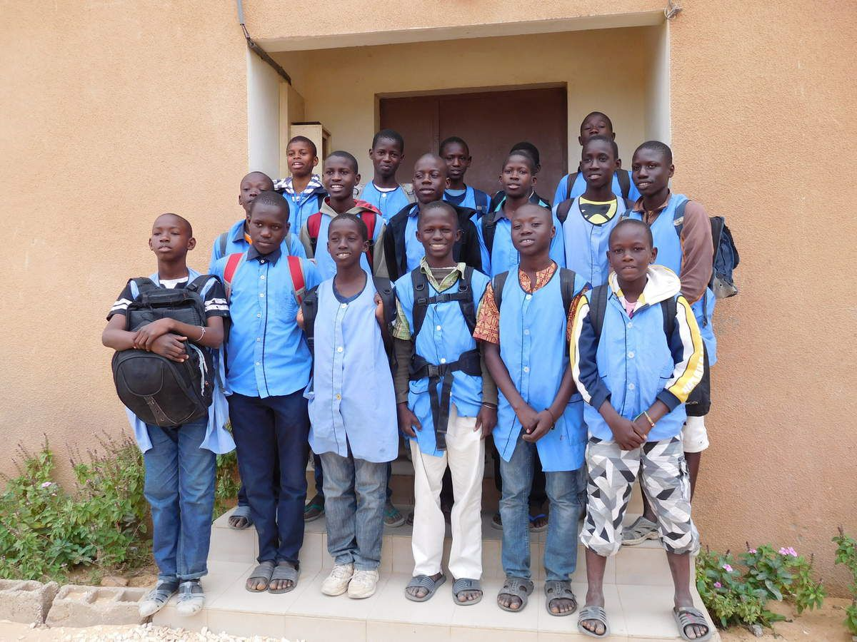 Les 16 enfants du Centre Mère Teresa