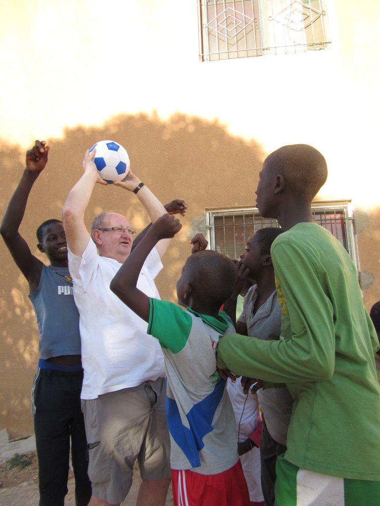 Marielle, Jacqueline, Michel, Mijo et Jean-Yves sont revenus du Sénégal.