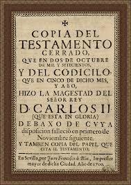Testamento de Carlos II