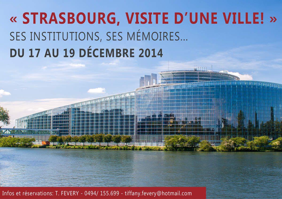 Strasbourg, visite d'une ville