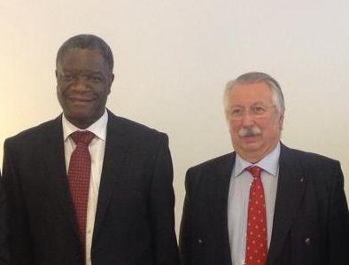 Rencontre avec Dr Mukwege