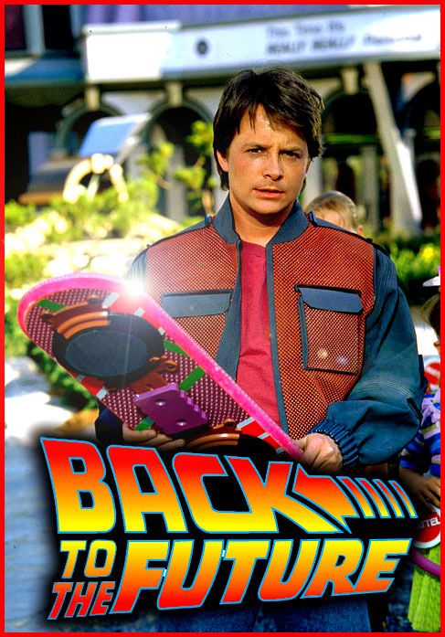 Marty McFly et son hoverboard.