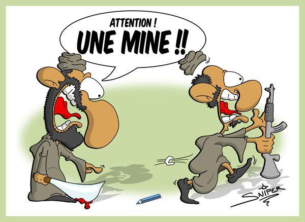 Dessin Sniper sur Charlie Hebdo