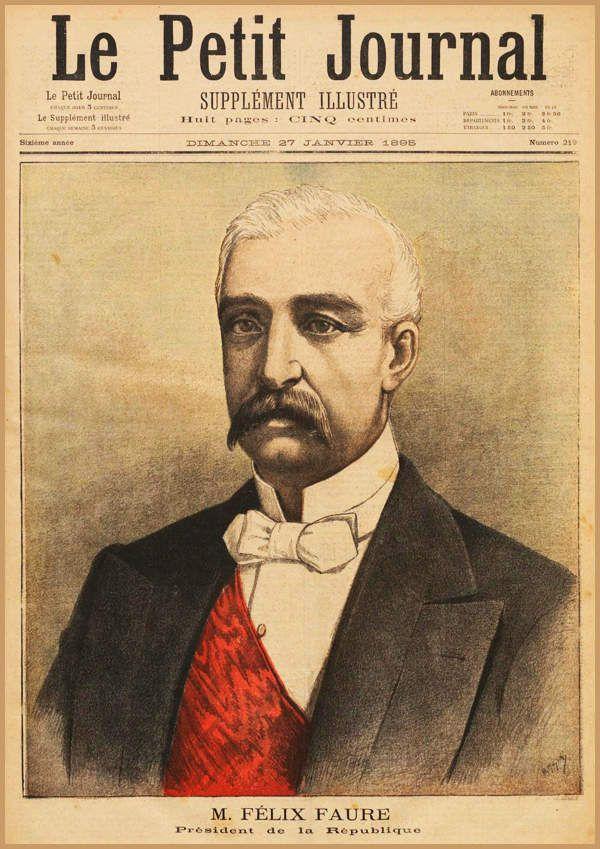 Le président Félix FAURE meurt durant une FELLATION !