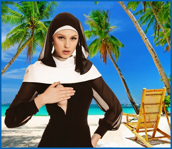 VIDEO : Une religieuse sexy à la plage !