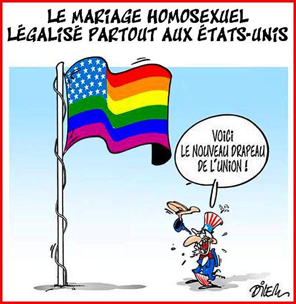 États de mariage homosexuels légalisés