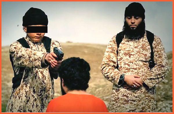 Execution par un enfant de Daech.