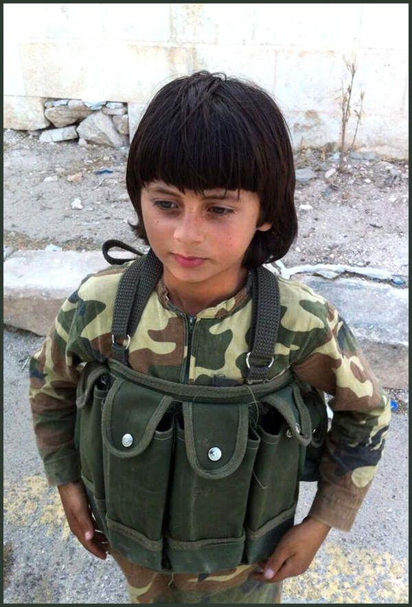 Enfant combattant