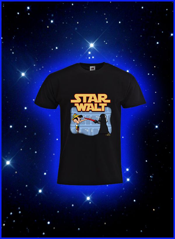 Tee-shirt Star Wars & Disney
