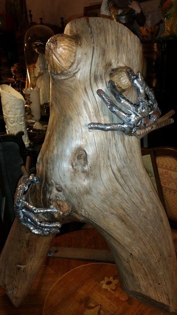 Atelier d 39 b nisterie le gardian du pass for Realisation bois flotte