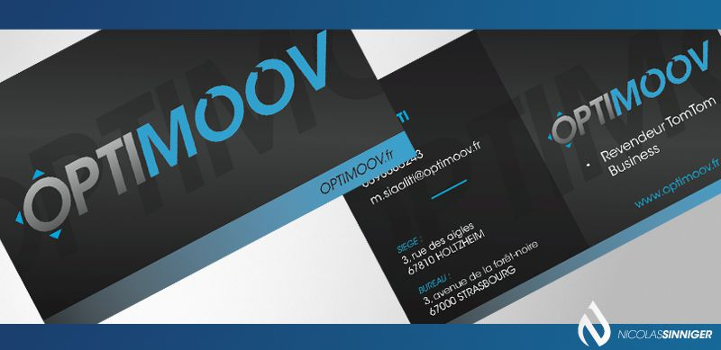 Optimoov - Carte de visite