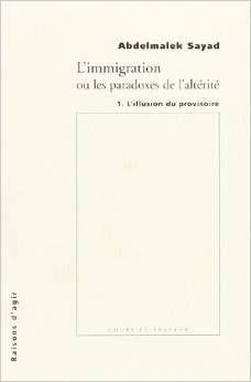 Fiche de Lecture : L'immigration ou les paradoxes de l'altérité