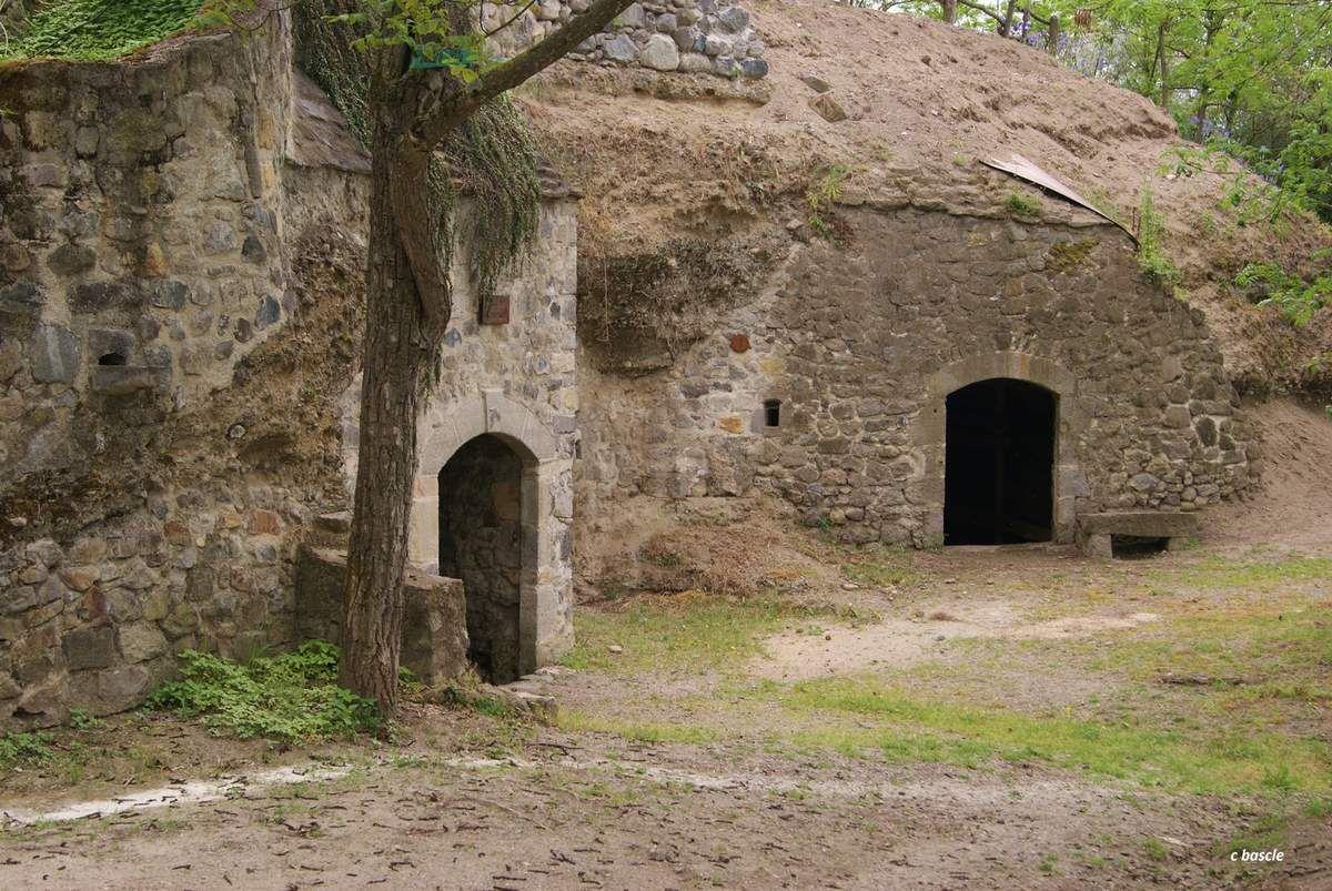 Rando la chaux de Pardines - Les grottes de Perrier.