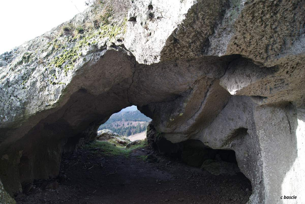 Les grottes du petit Suchet