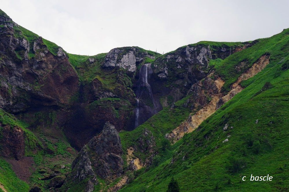 La grande cascade de la Dore