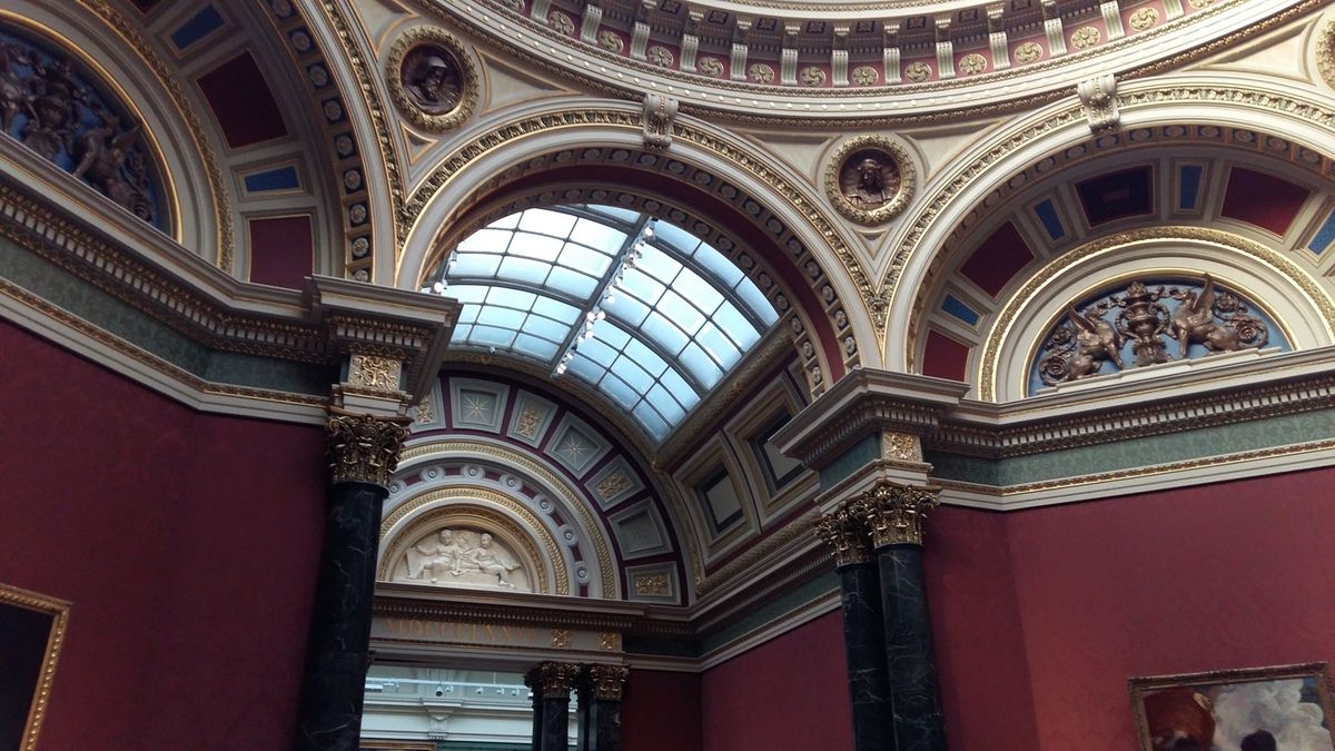 Entrée dans le musée