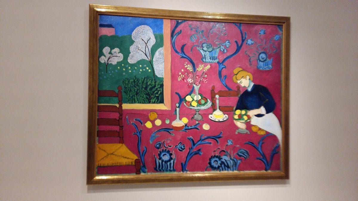"""""""La desserte (Harmonie rouge, La Chambre rouge)"""" printemps-été 1908 (Ermitage)"""