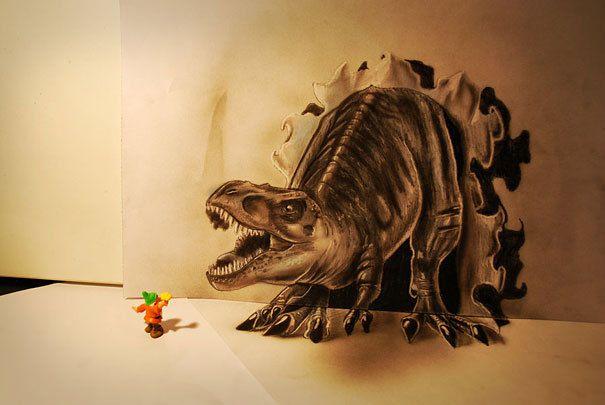 Les dessins presque vivants de Ramon Bruin