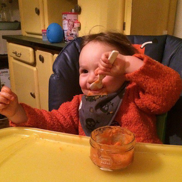 Les bons petits plats pour bébé homme made de Comme des papas