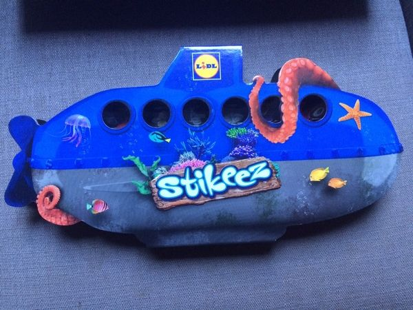 We all live in a Stikeez Submarine (Giveaway)