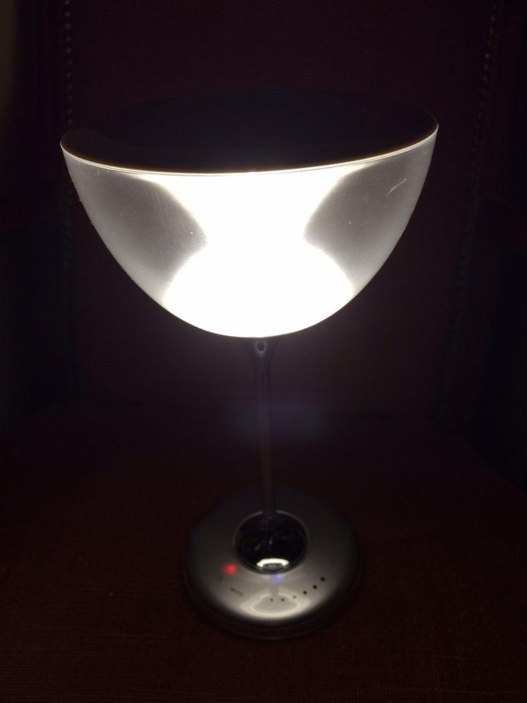 L' enceinte lampe Waateck bluetooth, test, avis et cadeau