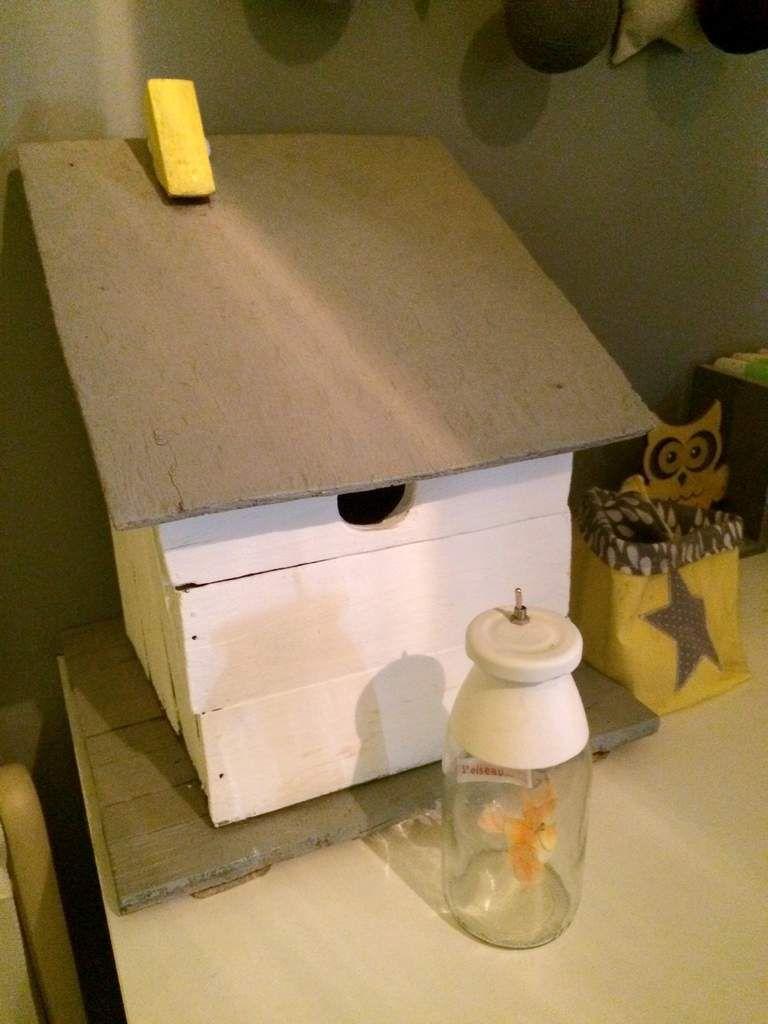 La petite chambre jaune et grise (2 ans après)   croque madame, le ...